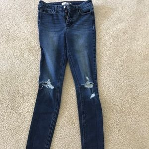 Hollister Jeans - Hollister high rise jeans. Size 1